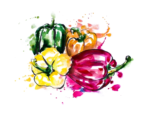 peppers couleur